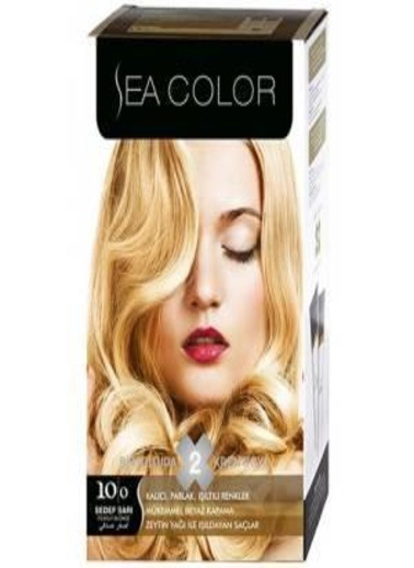 Sea Sea Color 2 Li Saç Boyası 10-0 Sarı